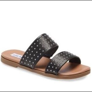 Steve Madden 'dede' studded slide sandal